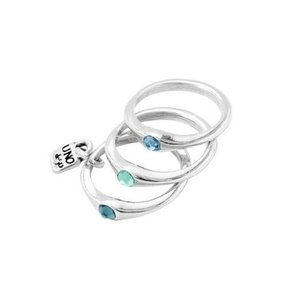 UNOde50 UNOde50 Ring | HAPPY BLUE | FREEDOM | SS21