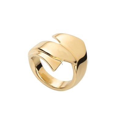 UNOde50 UNOde50 Ring   ABRACADABRA   VERGULD   ANI0691ORO000
