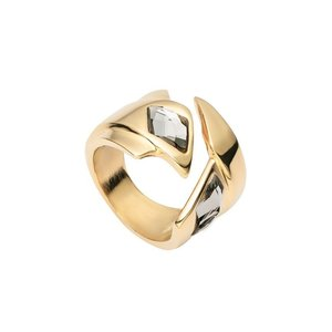 UNOde50 UNOde50 Ring | SUPERSTITION | VERGULD | DAZZLE SS21