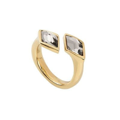 UNOde50 UNOde50 Ring | DOUBLETRICK | VERGULD | ANI0692GRSORO