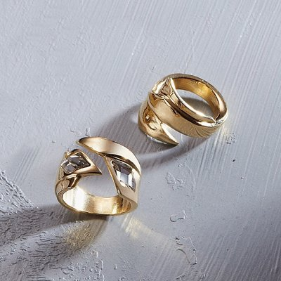 UNOde50 UNOde50 Ring | SUPERSTITION | ANI0690MCLMTL