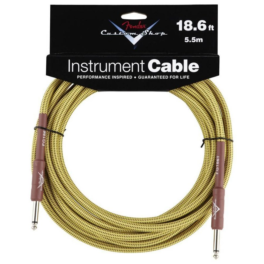 Fender CS Cable 5.5m Tweed