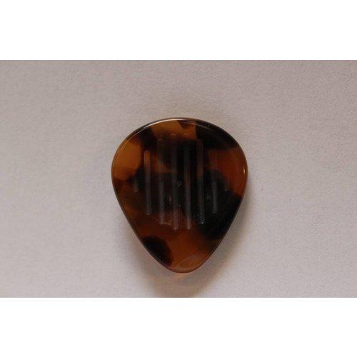Manouche Plectrum  Brown - Stripe Grip