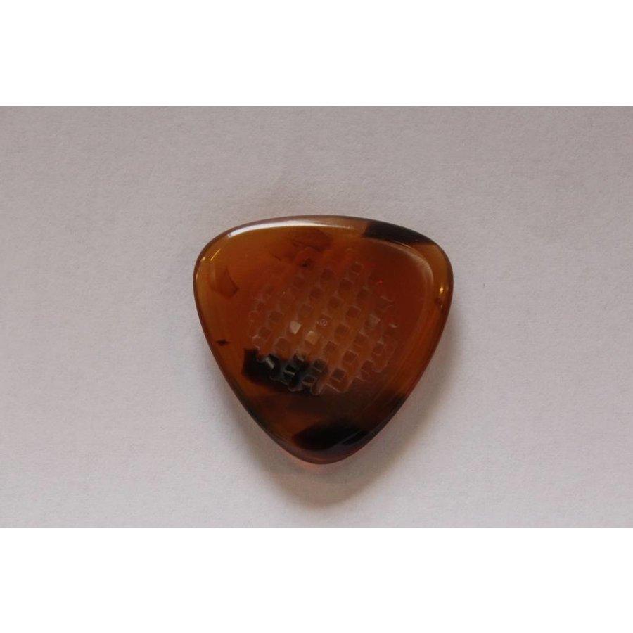Manouche Plectrum Driehoek Brown - Cross Grip  - Copy