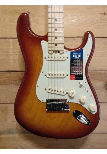 Fender American Elite Strat Tobacco Sb