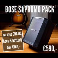 Bose S1 Pro Pakket (Gratis extra batterij en hoes!)