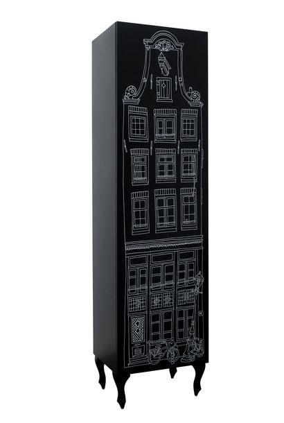 Print Amsterdam Halsgevel/Neckgable