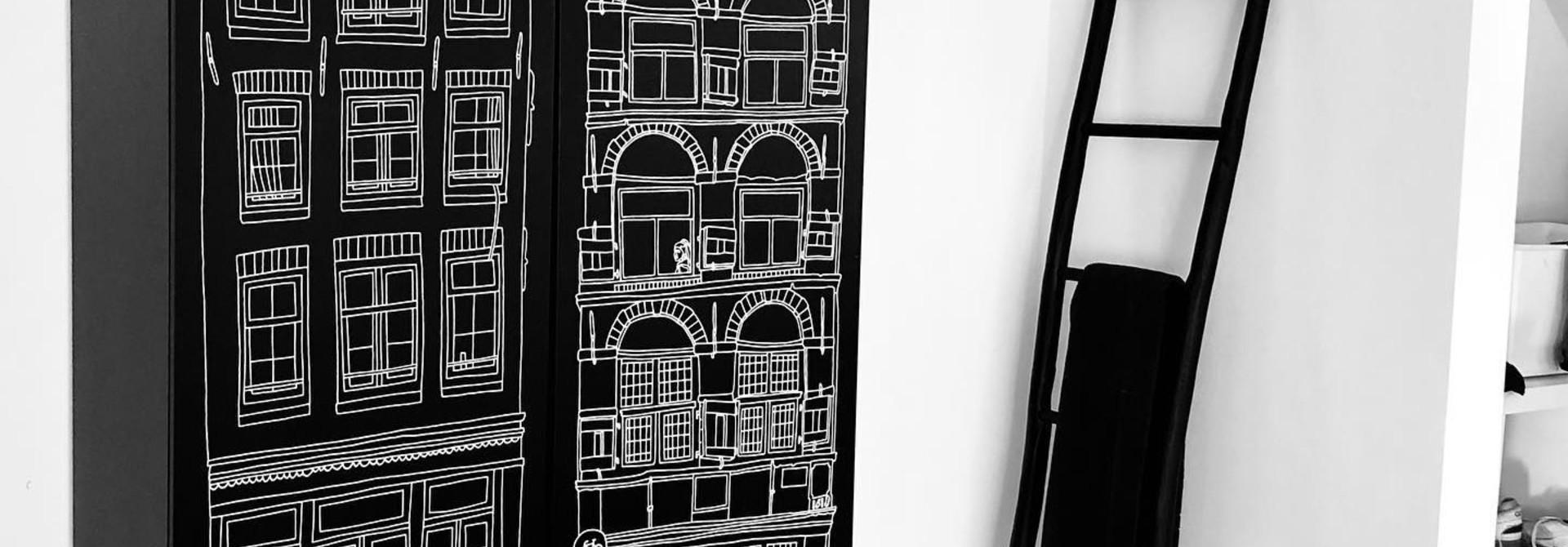 Fotoshoot voor onze nieuwe collectie Amsterdam Print