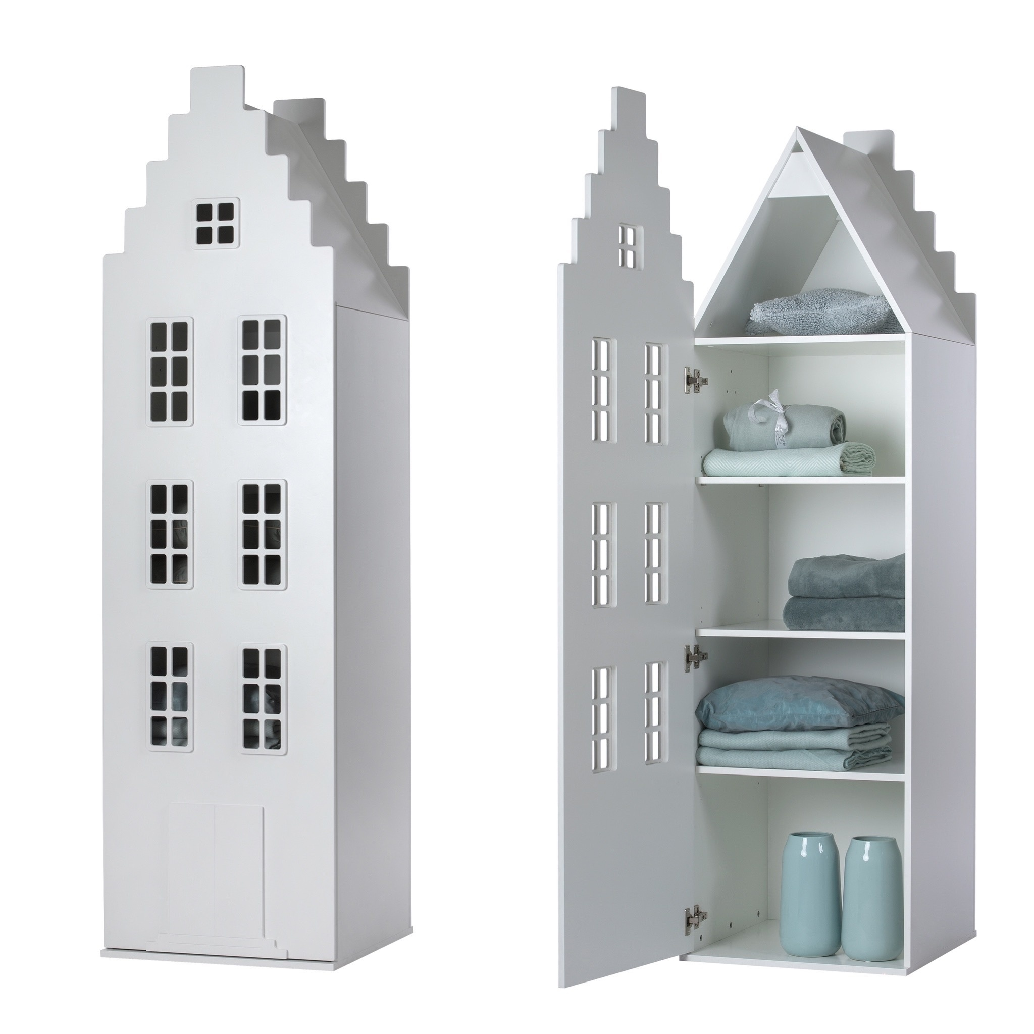 Cabinet Amsterdam Stairgable, 198/55/55 cm. All Colors.-7