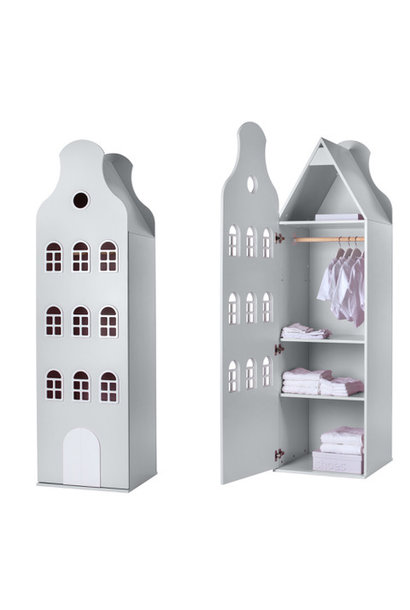 Cabinet Amsterdam Bellgable XL 216/60/60 cm. All colors.