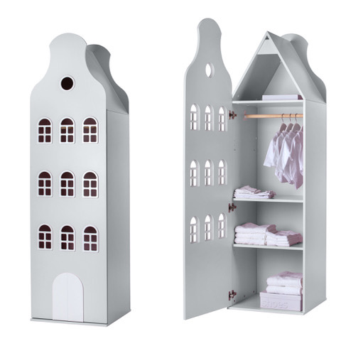 Cabinet Amsterdam Bellgable, XL 216/60/60 cm. All colors.-2
