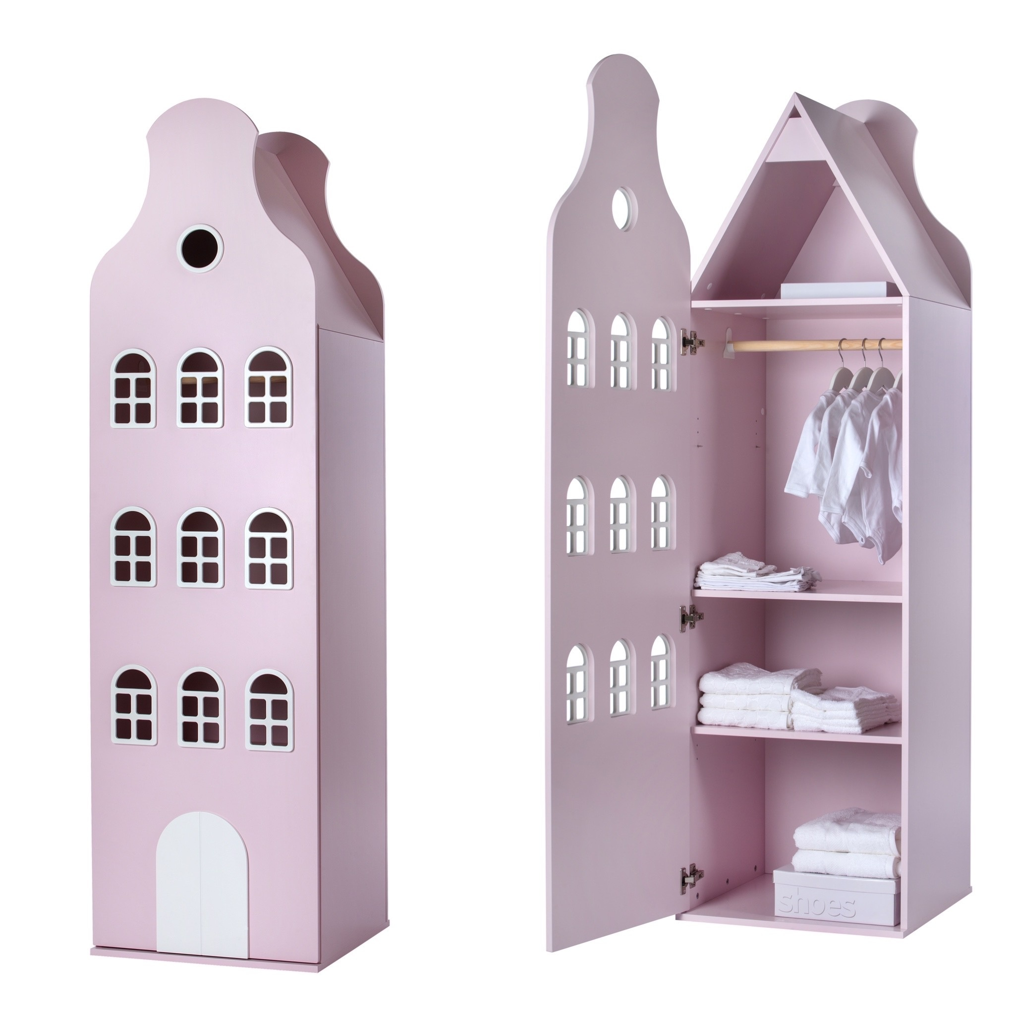 Cabinet Amsterdam Bellgable, XL 216/60/60 cm. All colors.-1