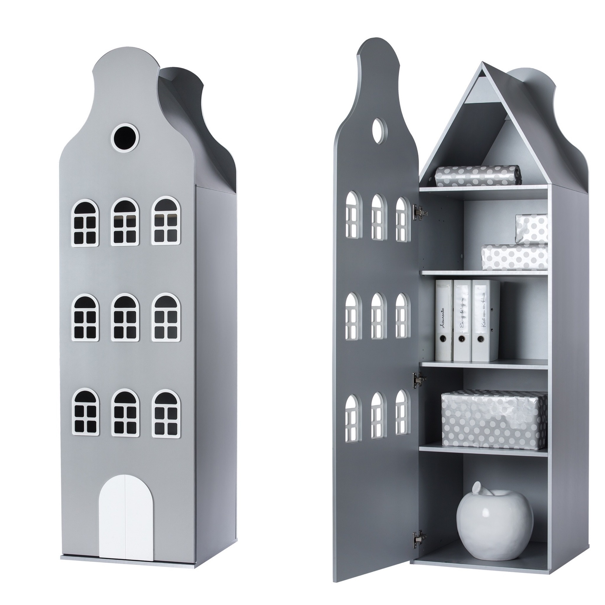 Cabinet Amsterdam Bellgable, XL 216/60/60 cm. All colors.-7