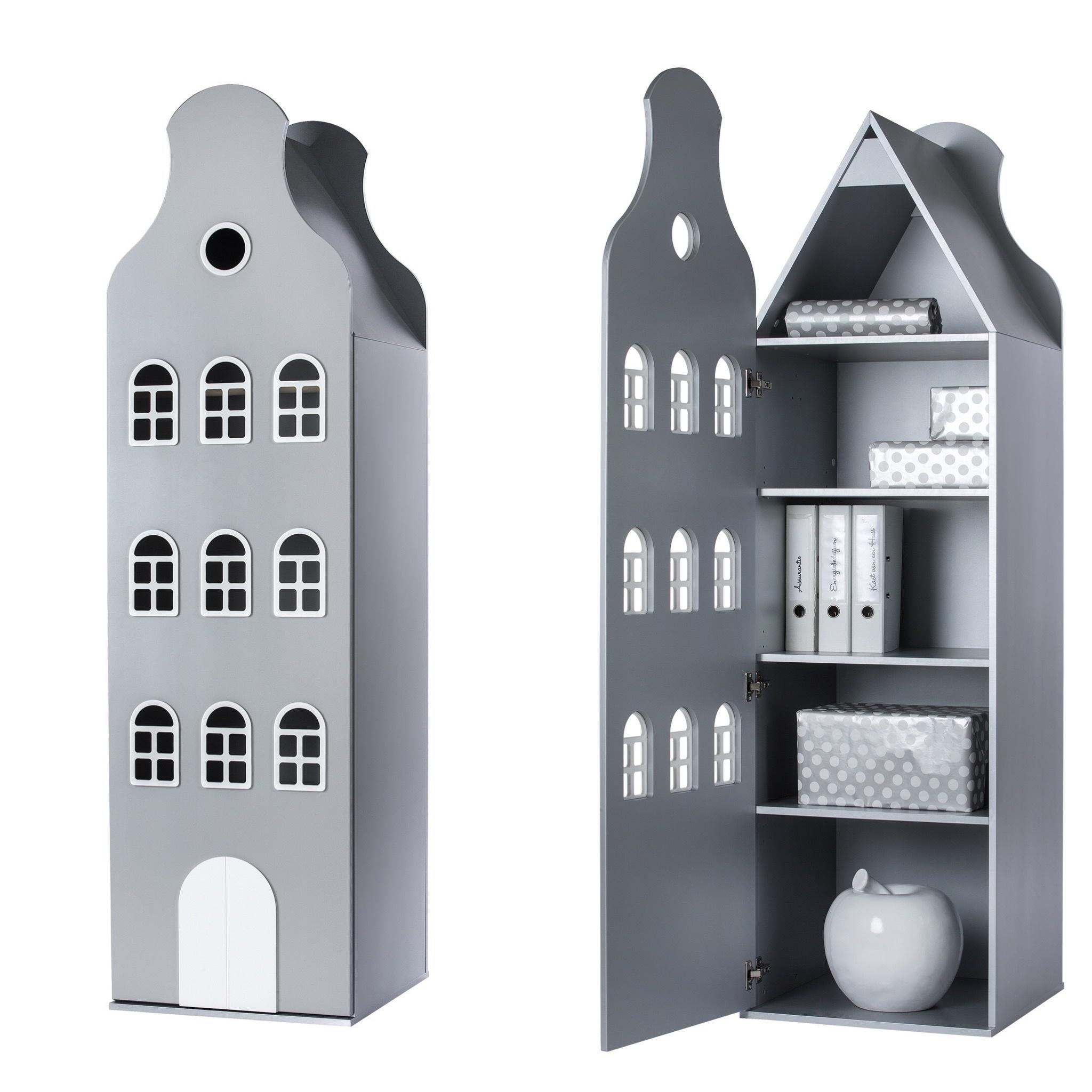 Cabinet Amsterdam Bellgable, 198/55/55 cm-9