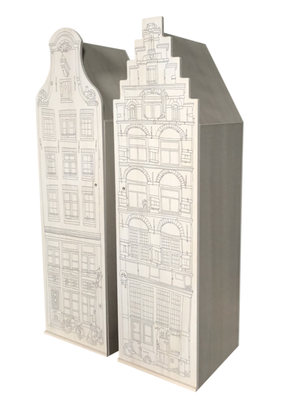 Cabinet Amsterdam Wood Stairgable