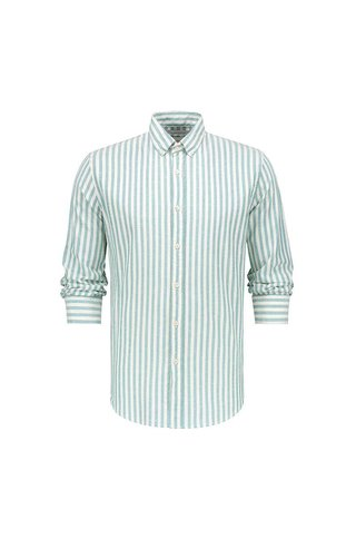 THE GOOD PEOPLE WING RIDER STRIPE SHIRT