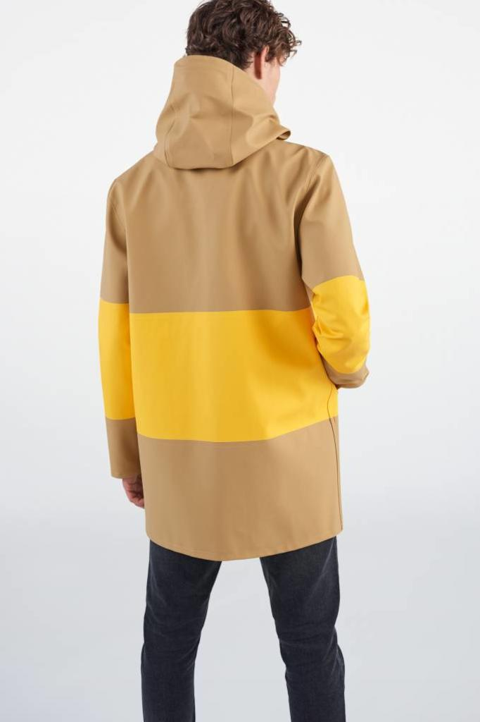 STUTTERHEIM STOCKHOLM LARGE STRIPE RAINCOAT