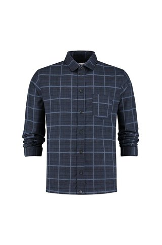 THE GOODPEOPLE DAVE BOMBER SHIRT