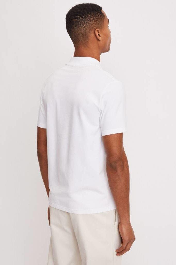 FilippaK  SOFT LYCRA POLO T-SHIRT WHITE