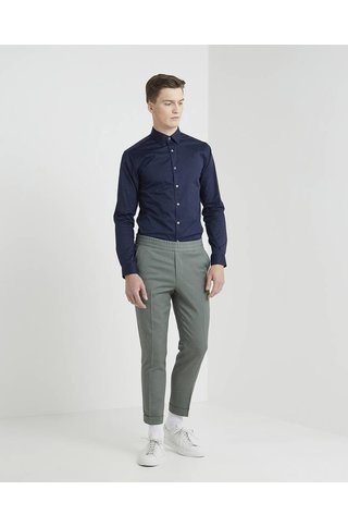 FILIPPA K TERRY GABARDINE CROPPED PANTS PLATOONE