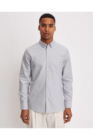 FILIPPA K TIM OXFORD SHIRT PLATOON/WHITE