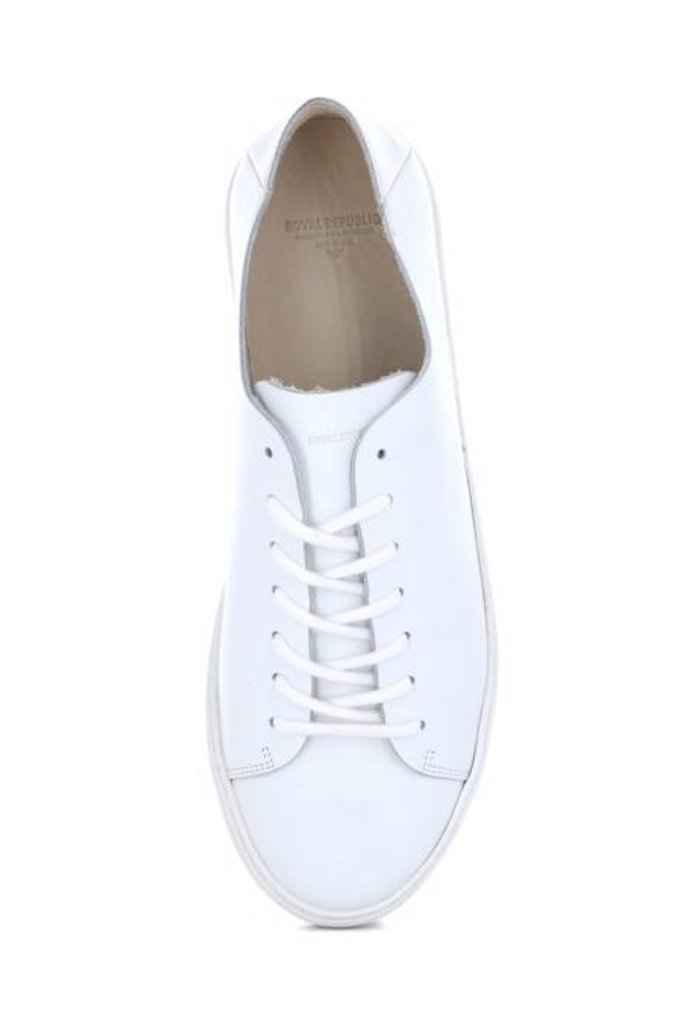ROYAL REPUBLIQ DORIC DERBY SHOES WHITE