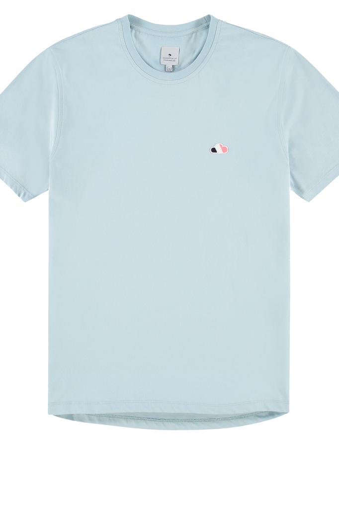 the GoodPeople air tshirt blue