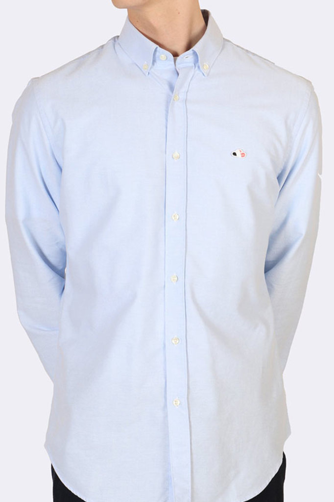 the goodpeople aloni shirt light blue