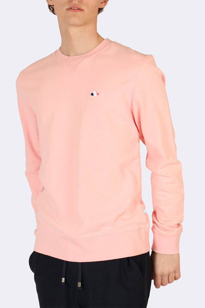 the goodpeople cloud sweater peach