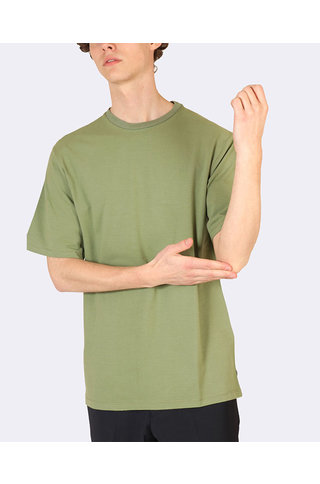the GoodPeople jade tshirt army green