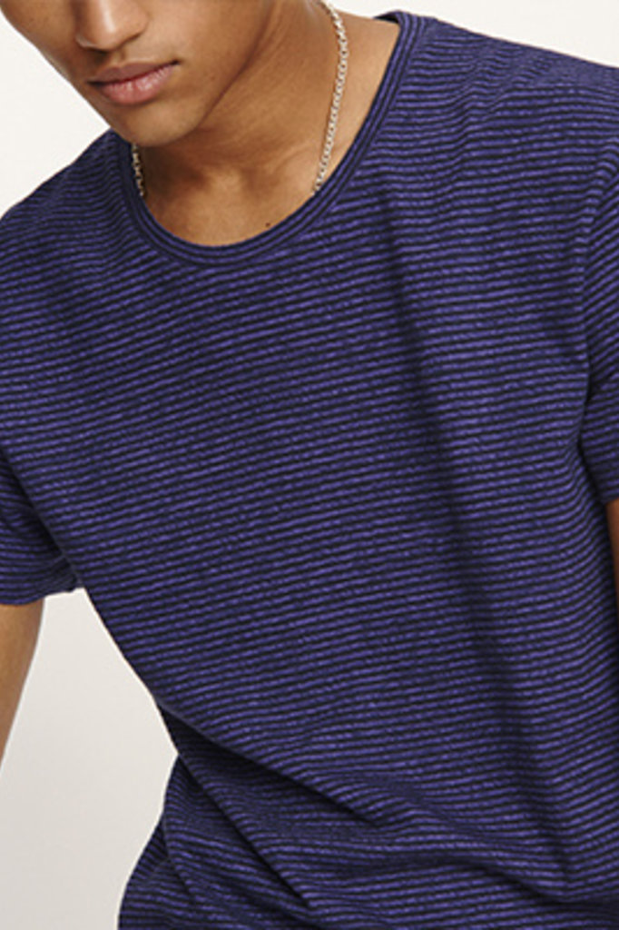 samsoe & samsoe kronos tshirt purple