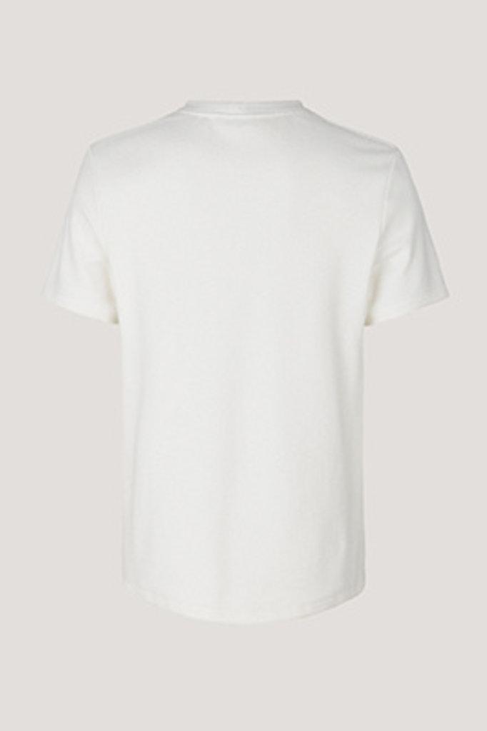 samsoe & samsoe guy tshirt clear cream