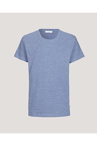 samsoe & samsoe kronos tshirt blue