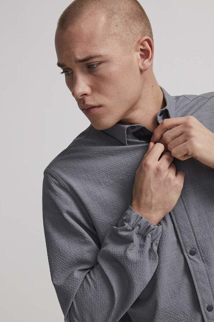 nno7 giuseppe overshirt grey mel
