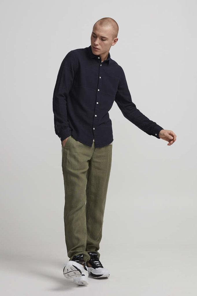 NN07 morgan shirt navy blue
