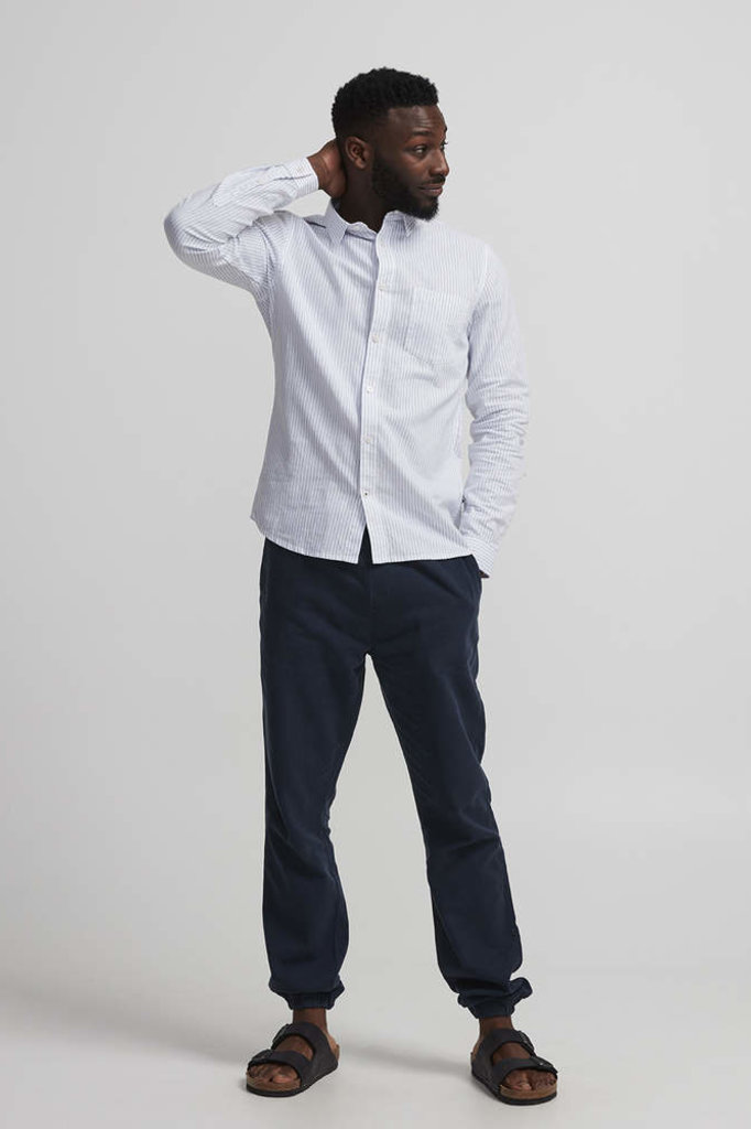 NN07 pelle drawstring pants navy blue
