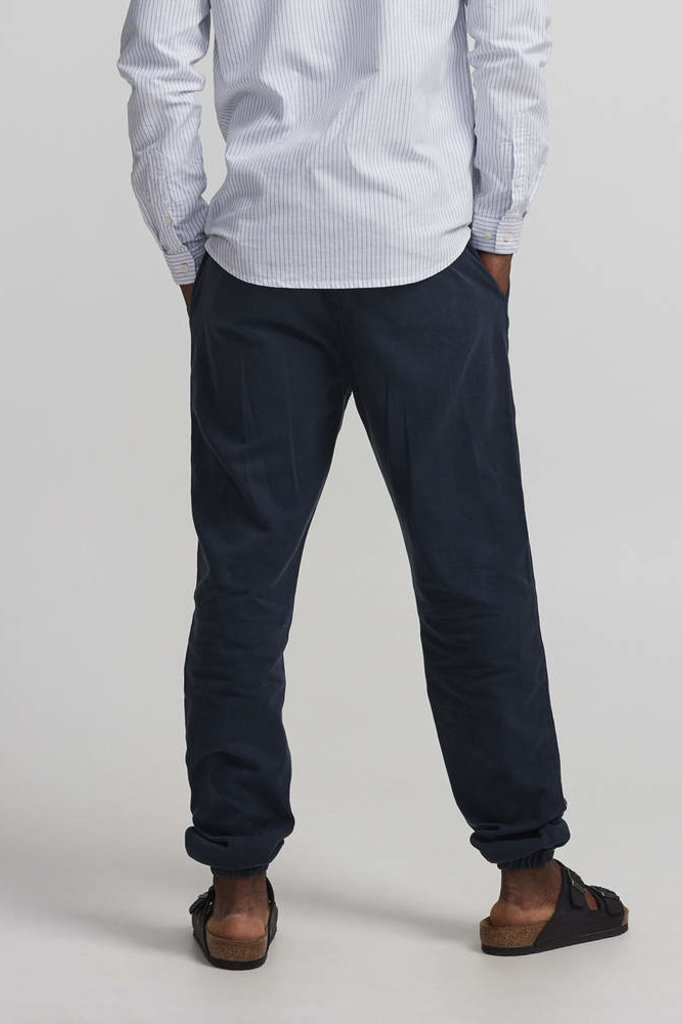 nno7 pelle drawstring pants navy blue