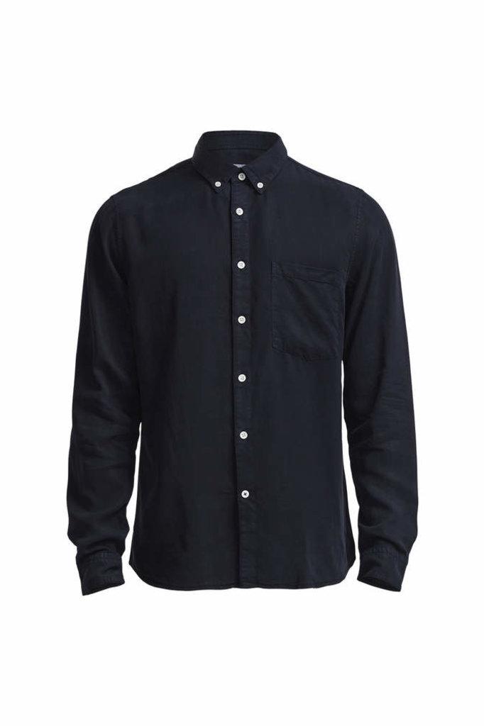 NN07 falk shirt navy blue