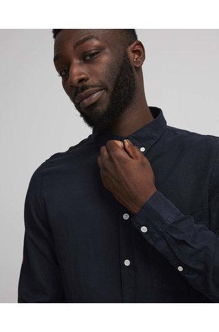 nno7 falk shirt navy blue