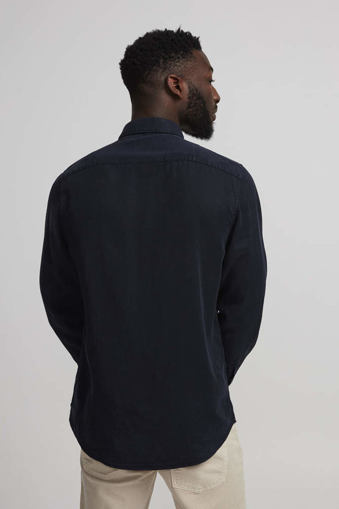 nno7 falk shirt navy blue