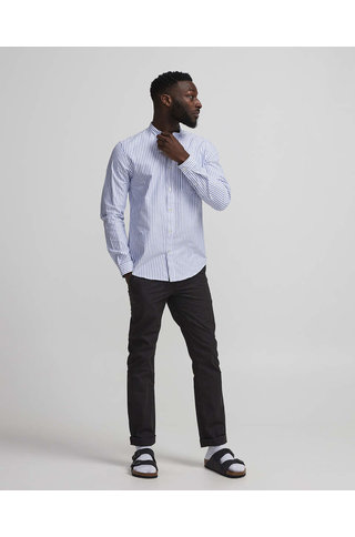 nno7 eske shirt blue stripe