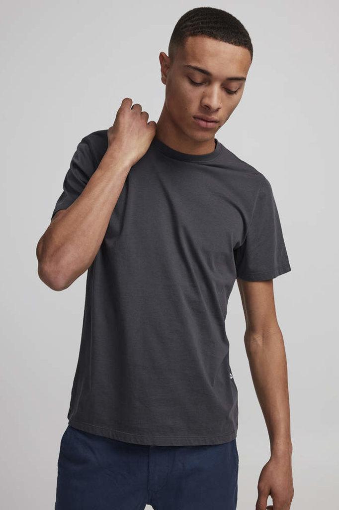 nno7 pima plain tee dark grey