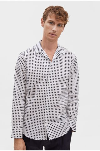 filippa k jean-paul dot print shirt