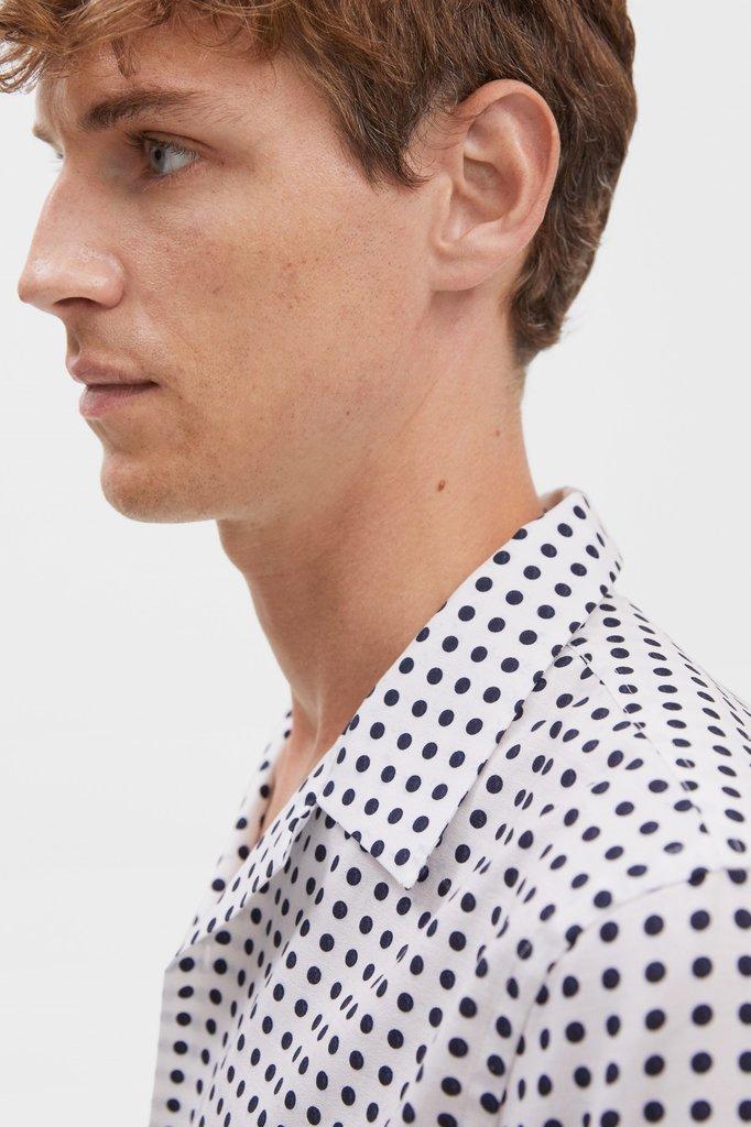 filippa k jean-paul dot print shirt