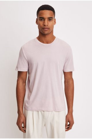 FilippaK single jersey regular tee frosty pink