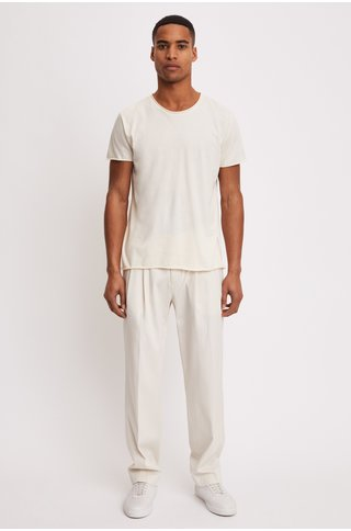 FilippaK roll neck tee panacotta