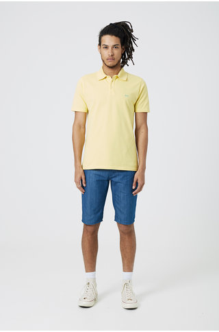 Denham lupo polo custard yellow