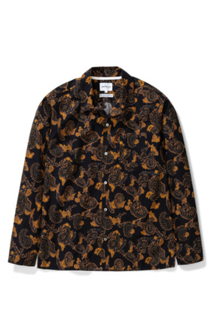 Norse Projects Carsten Paisley - Black 9999