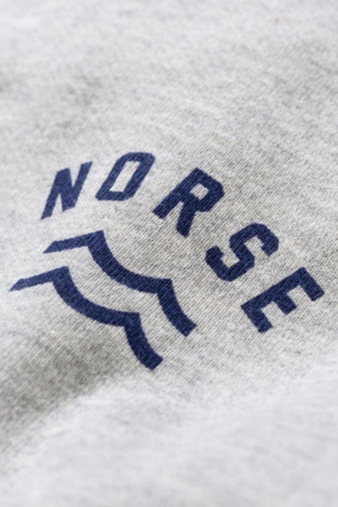 Norse Projects Ketel Ivy Wave Logo - Light Grey Melange 1026