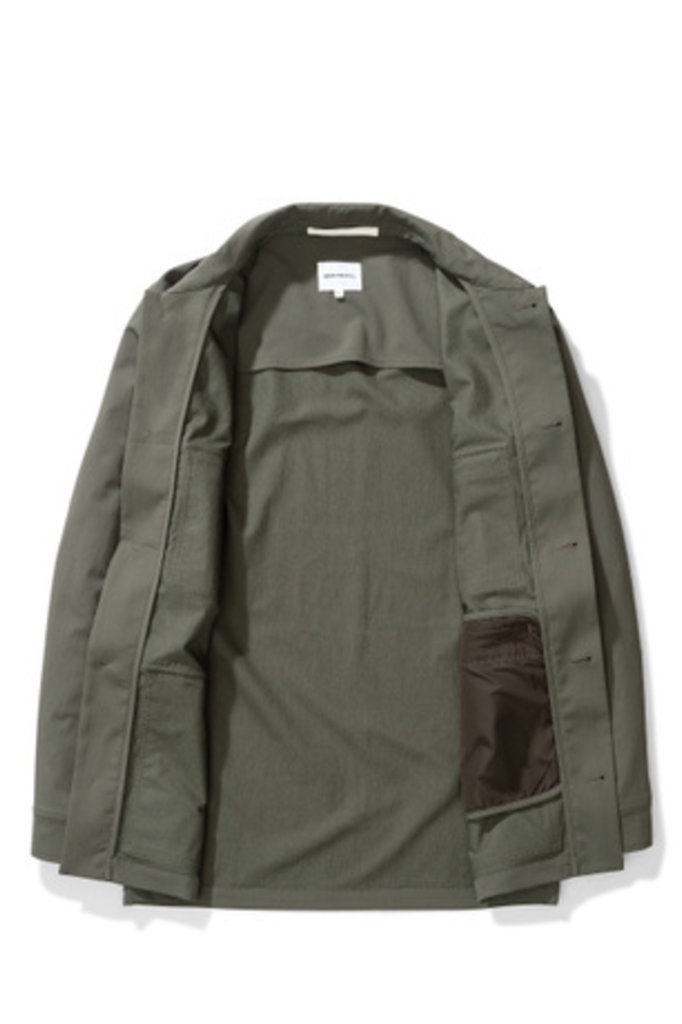 Norse Projects Kyle Travel - Ivy Green 8098